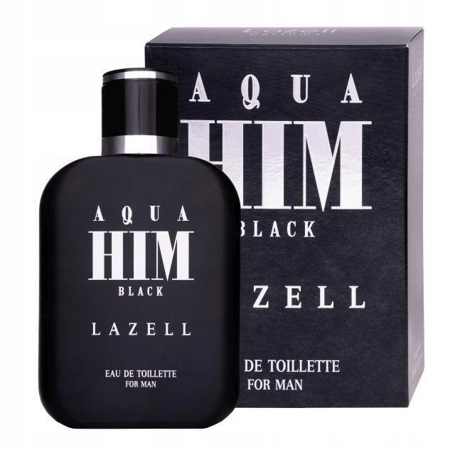 Aqua Him Black For Men woda toaletowa spray 100ml