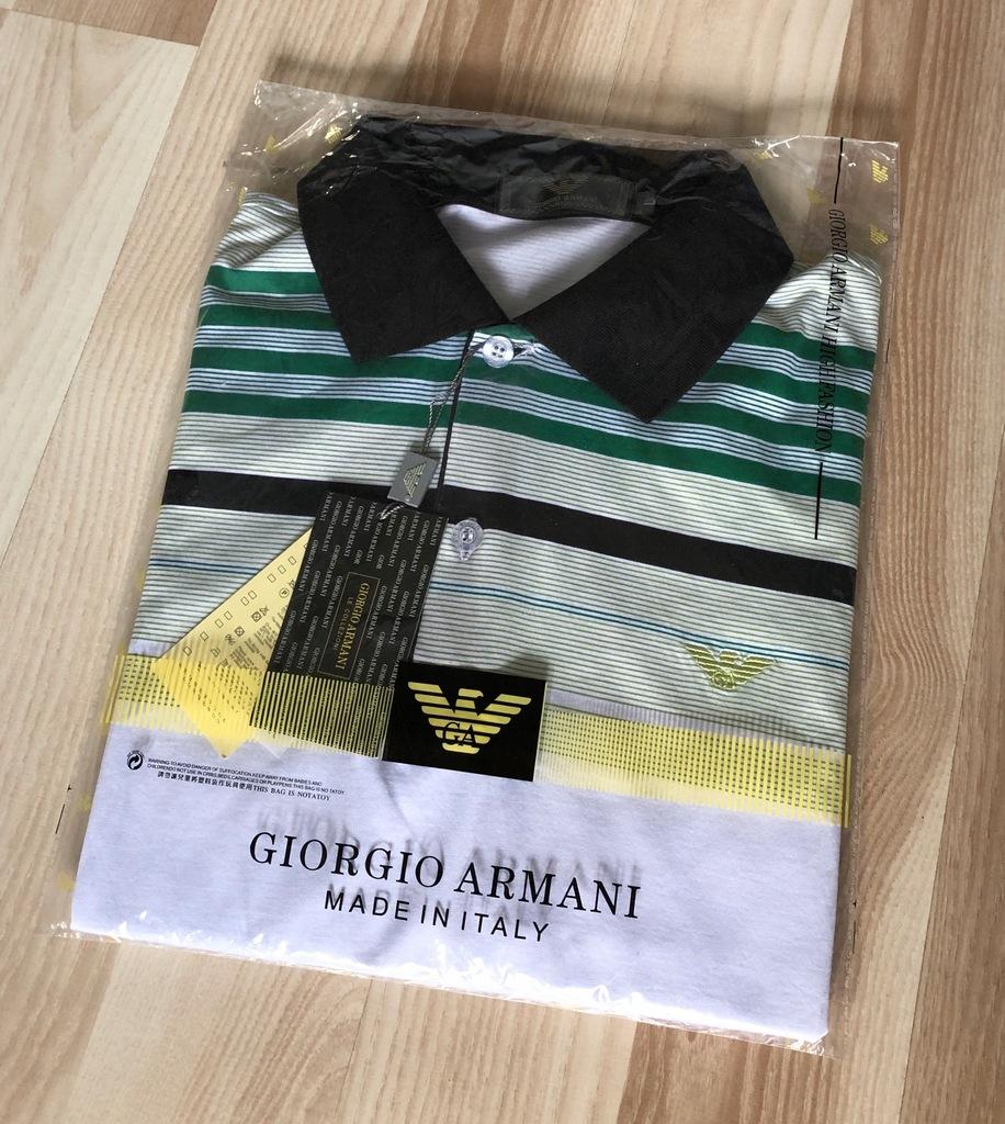 Koszulka polo Giorgio Armani rozm. L WYPRZEDAŻ!
