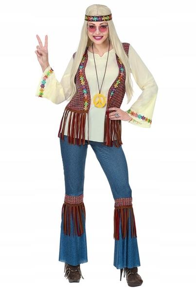 Stroj Hippie Hipiska Hipiski Dzieci Kwiaty S 8826716262 Oficjalne Archiwum Allegro