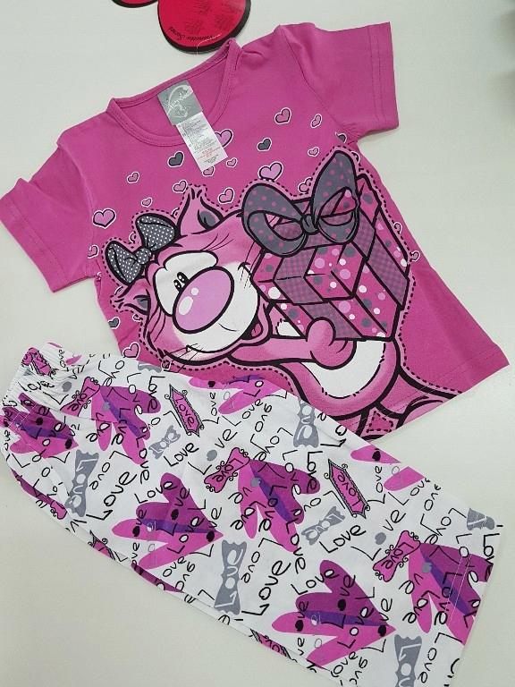Piżama dla dziewczynki 3-4 lat