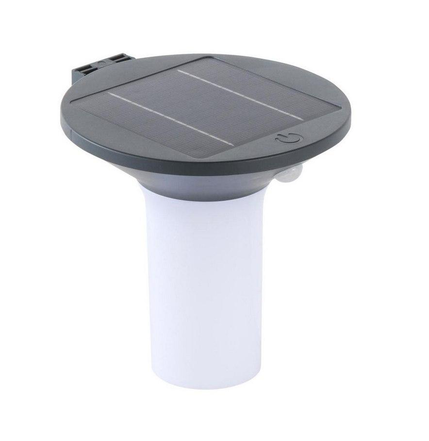 Kinkiet solarny czujnik ruchu i zmierzchu LED IP44