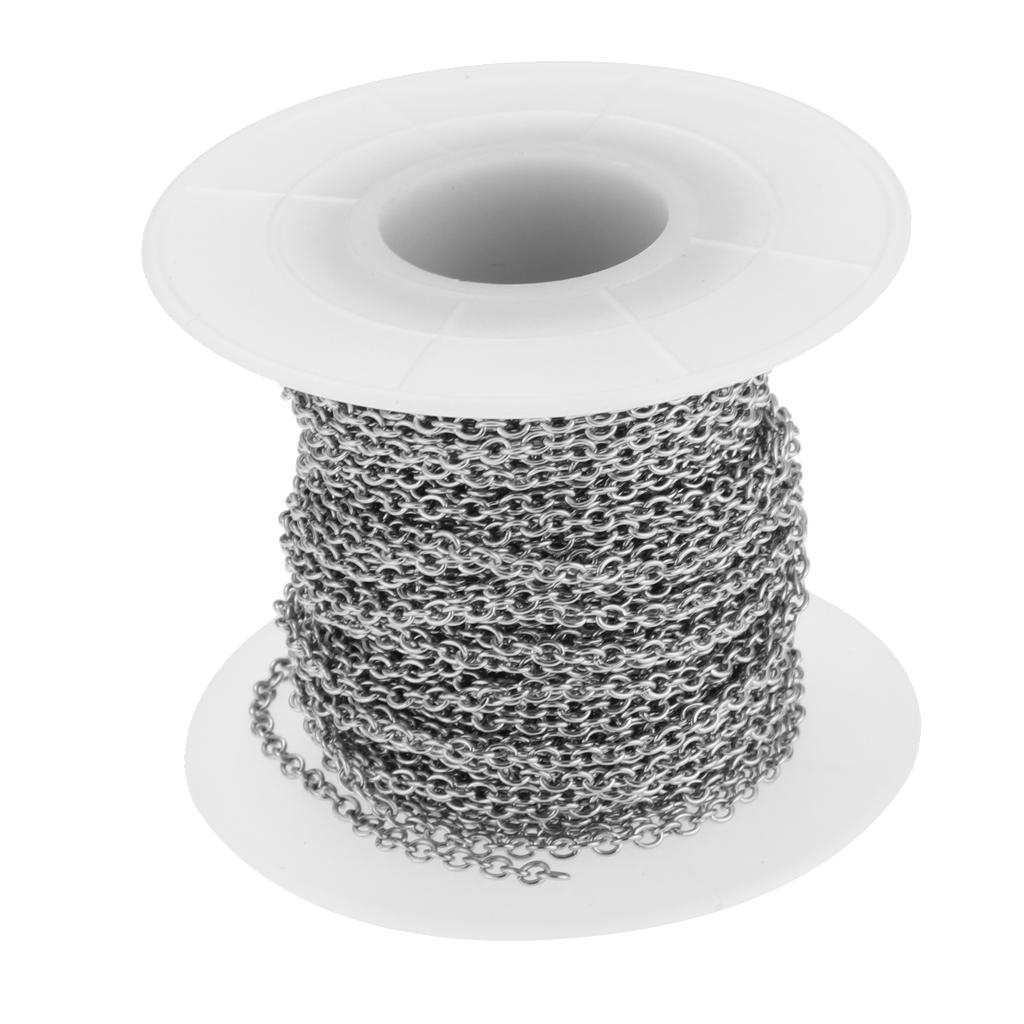 Łańcuszek kablowy ze stali nierdzewnej
