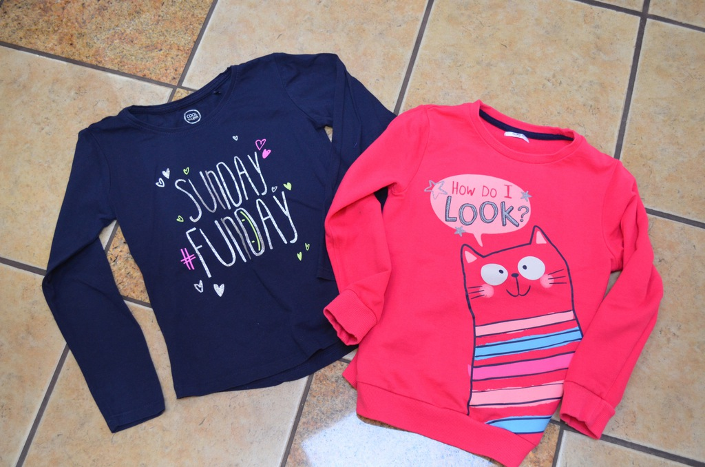 Bluzka i bluza dla dziewczynki rozm. 116