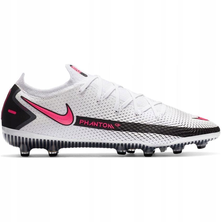 Białe Syntetyk Buty Sport Korki Nike r.44,5