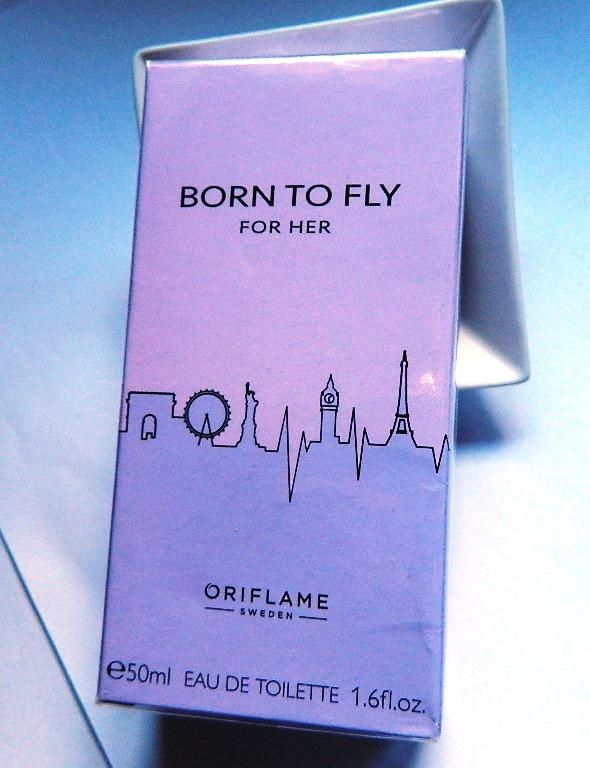 Oriflame born TO FLY EDT 50ML