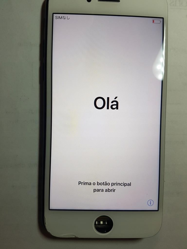 Oryginalny Apple LCD wyswietlacz iphone 7 biały