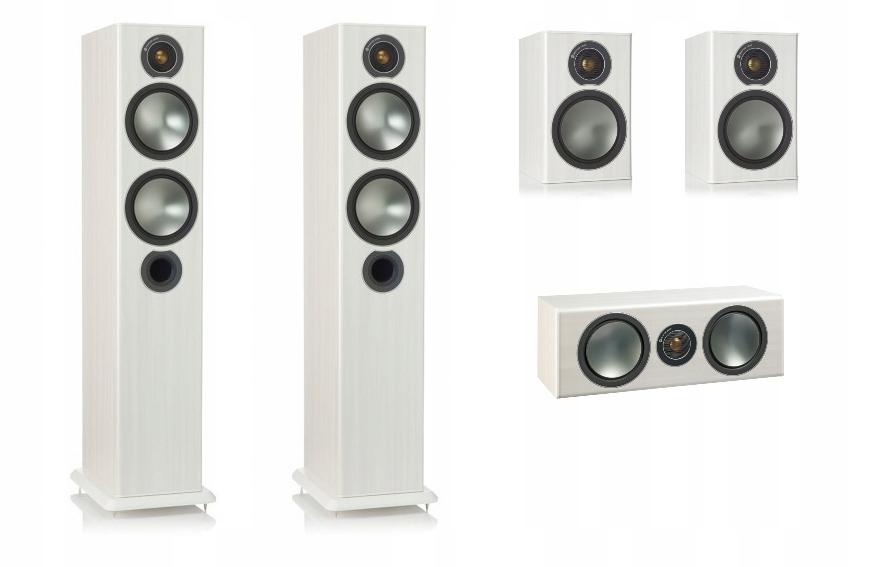 Monitor Audio Bronze 5 + 1+ C zestaw 5.0 exdemo