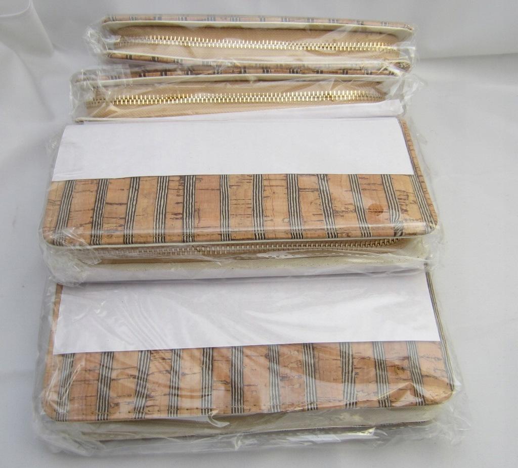 Pakiet 5 szt damski portfel Paul Rossi biało złoty