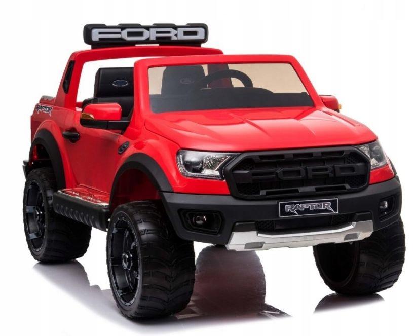 Auto na akumulator Ford Ranger Raptor czerwony