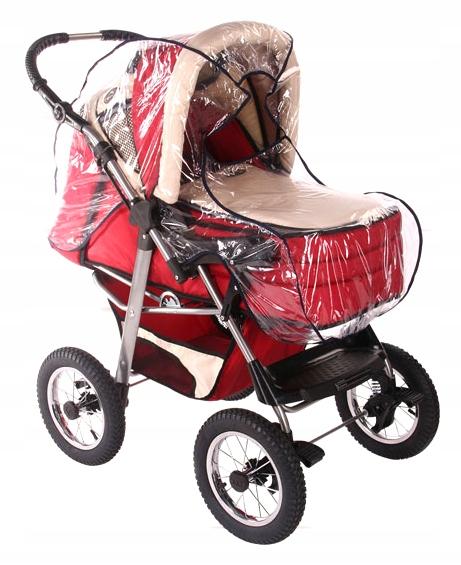 WOMAR Folia przeciwdeszczowa na wózek gondolę
