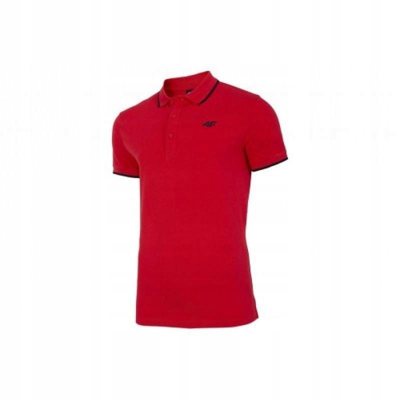 Koszulka 4F M NOSH4-TSM009 Czerwony