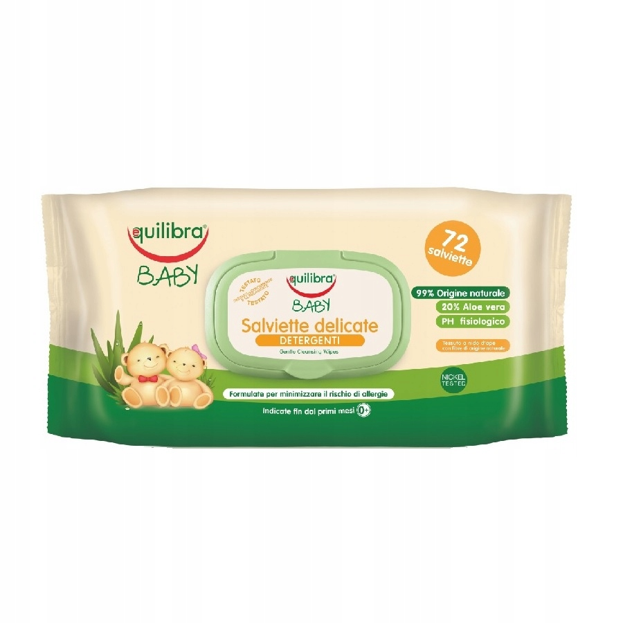 Equilibra Baby Gentle Cleansing Wipes delikatne ch