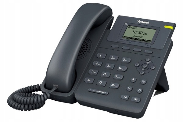YEALINK Telefon VoIP T19 - 1 konto SIP 2xFE
