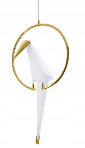 Lampa wisząca LORO 1 UP złota - LED