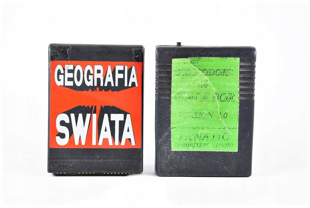 2x cart dla Commodore Polska produkcja