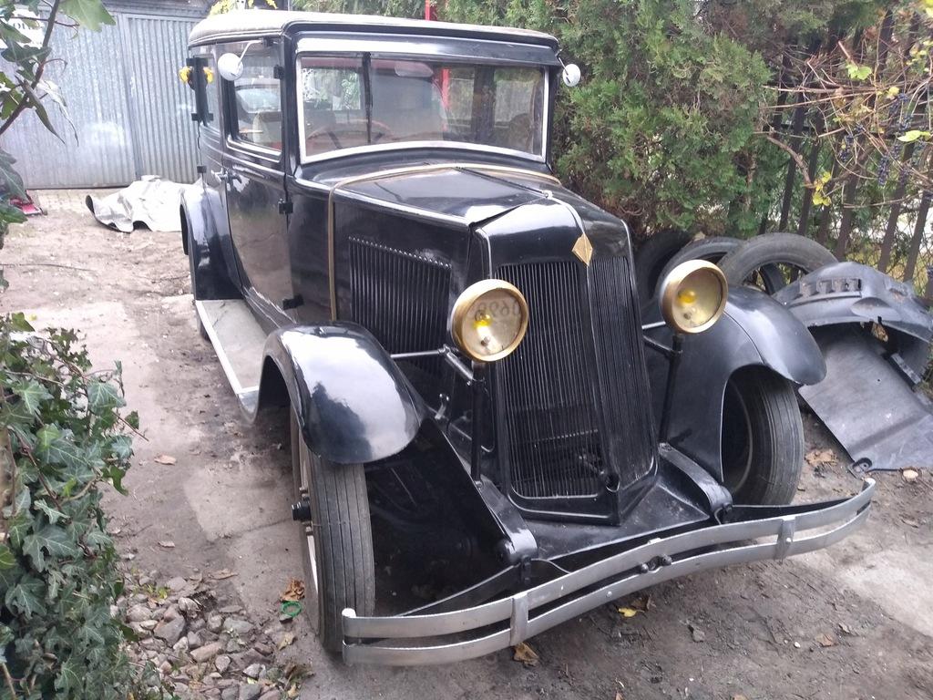 Renault KZ6 1931 primaquatre zabytkowy