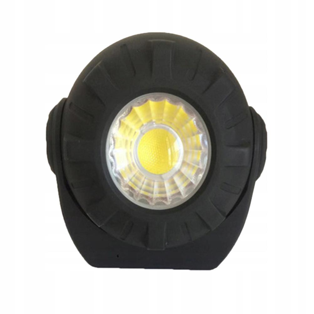 1szt Wielofunkcyjna ładowalna lampa kempingowa COB
