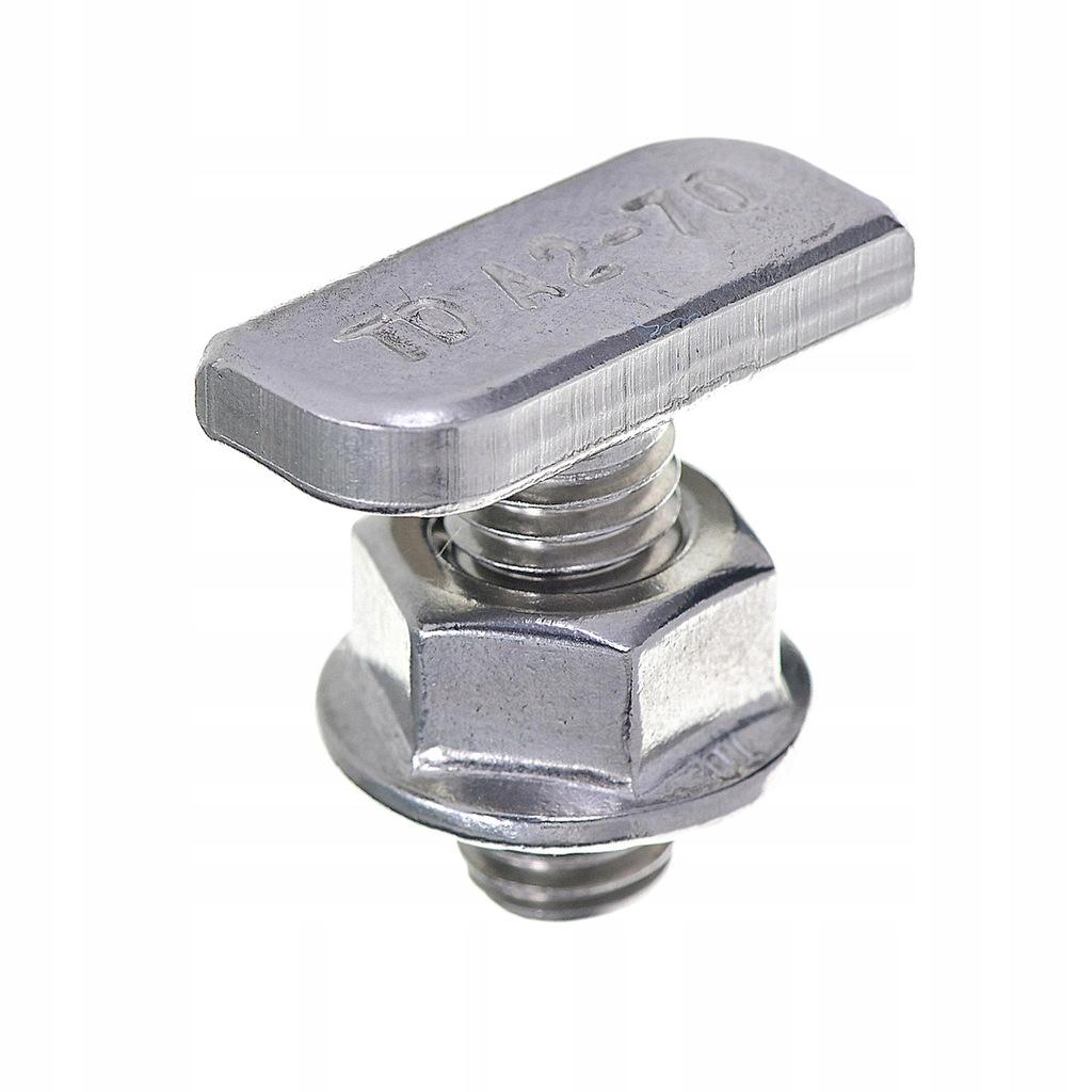 Śruba z nakrętką do mocowania optymalizatora SE