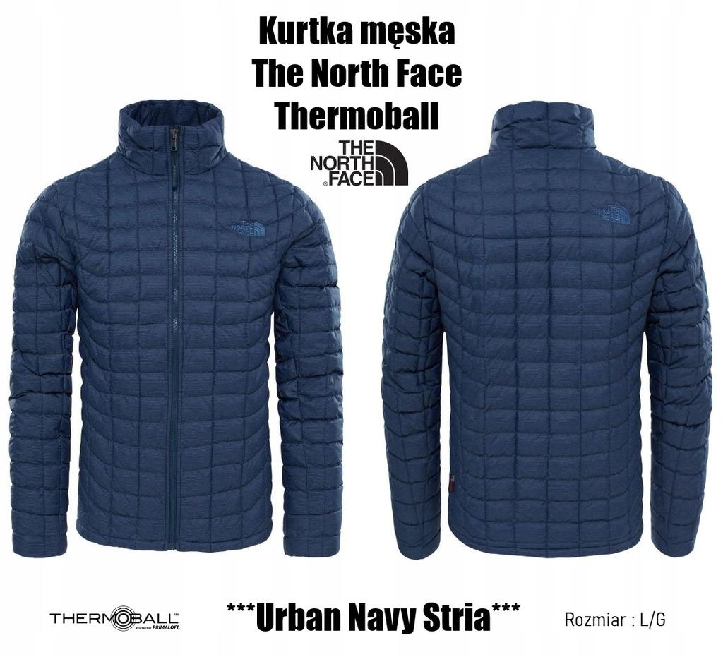 The North Face Thermoball Urban Navy Stria Kurtka
