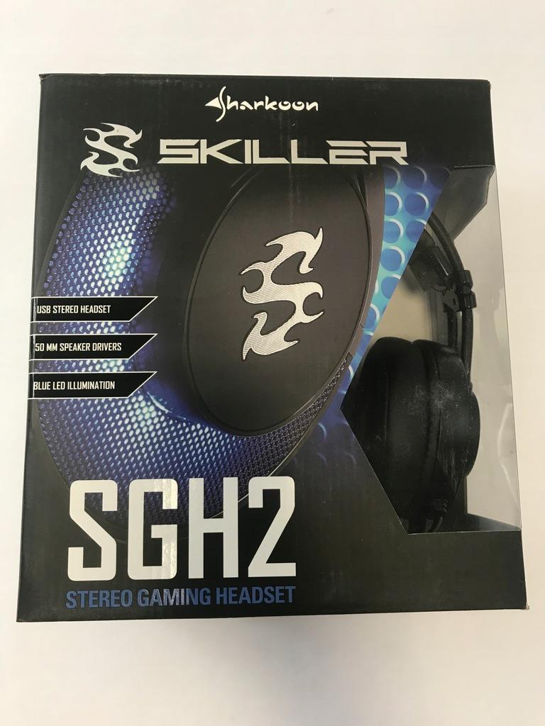 Słuchawki Sharkoon Skiller SGH2