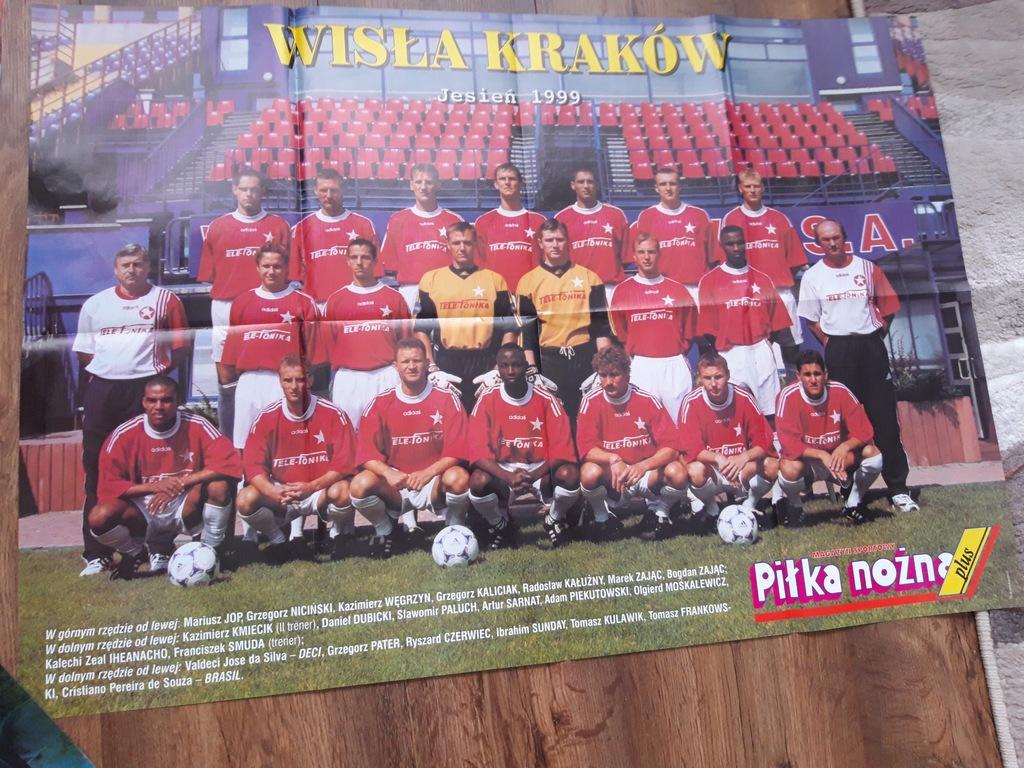 Plakat Olgierd Moskalewicz & Wisła Kraków 1999