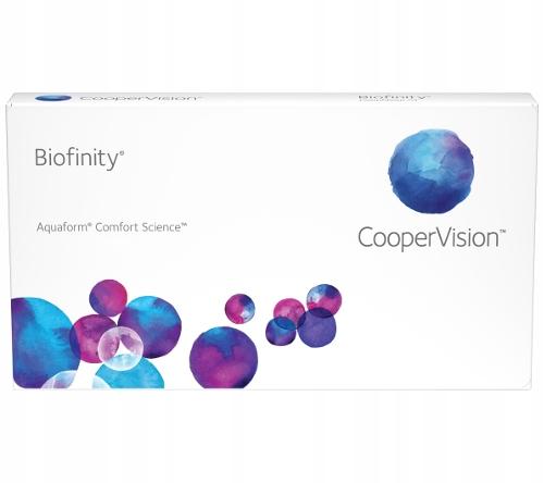 Soczewki MIESIĘCZNE Biofinity 1 sztuka moc -3.50