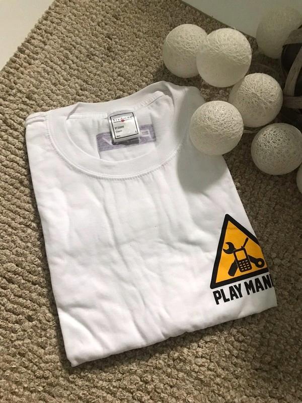 2 Koszulki z krótkim rękawem t-shirt męski biały S
