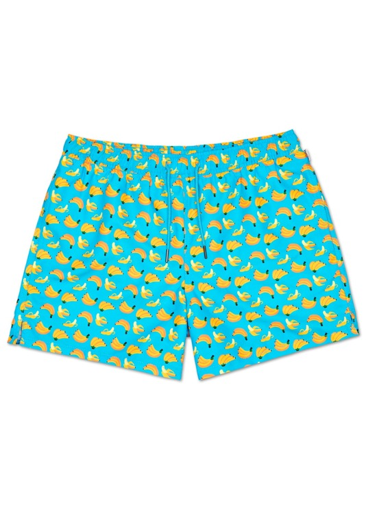 SZORTY KĄPIELÓWKI SPODENKI Happy Socks BANANY XL