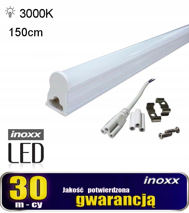 Świetlówka led liniowa t5 150cm 22w ciepła 3000k l