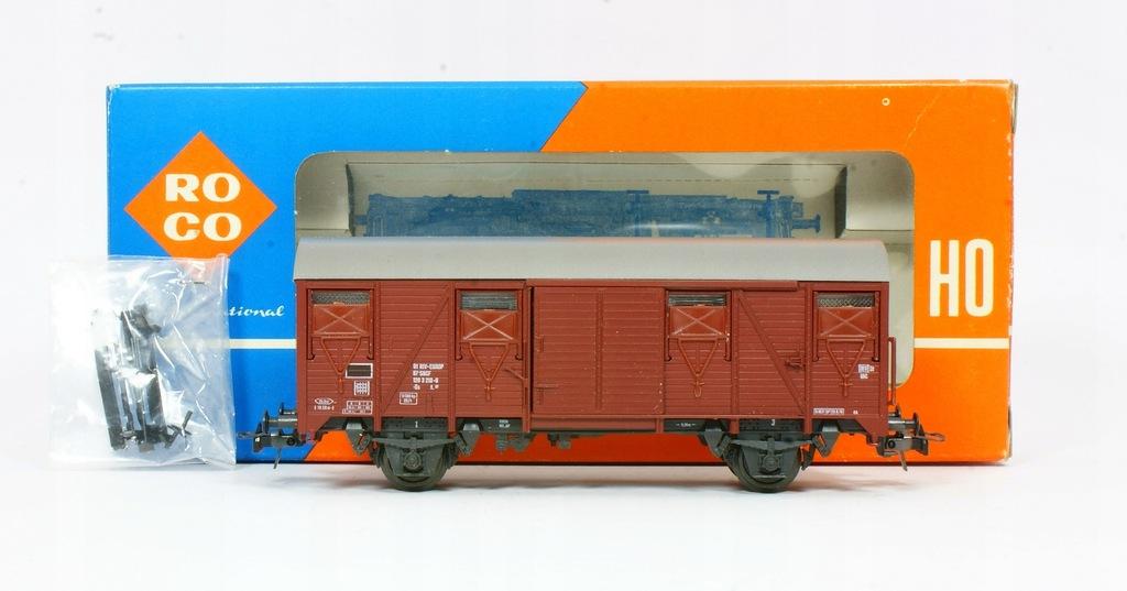 Roco. Wagon towarowy Gs SNCF III ep.
