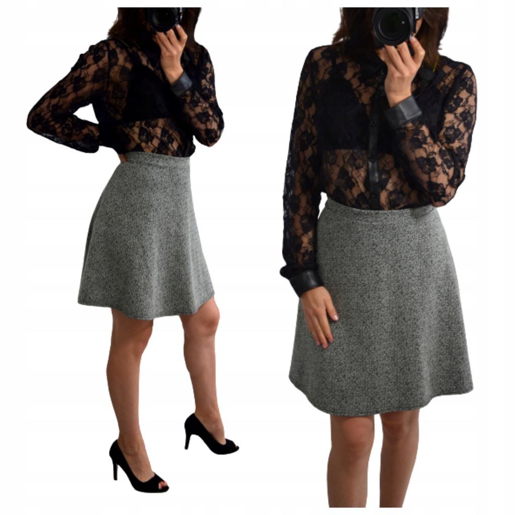 NewLook_rozkloszowana spódnica wysoki stan__48 4xl