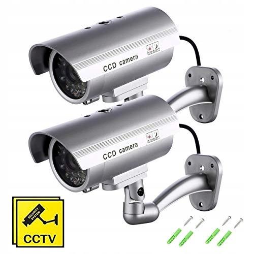 Atrapy kamery SeeKool 2 sztuki fałszywa kamera