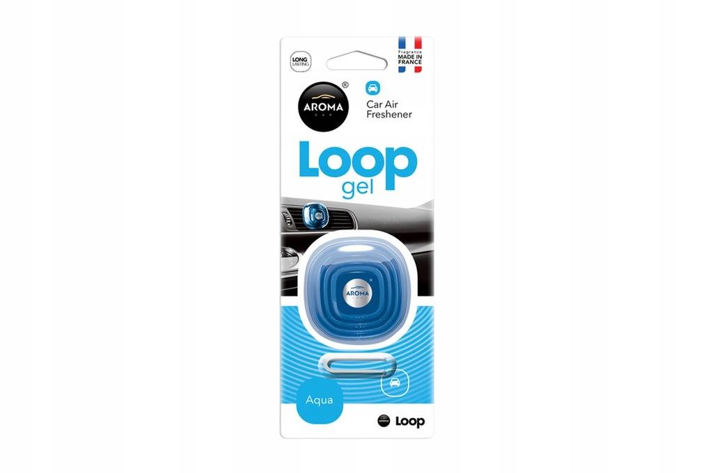 Odświeżacz powietrza AROMA CAR LOOP - Aqua