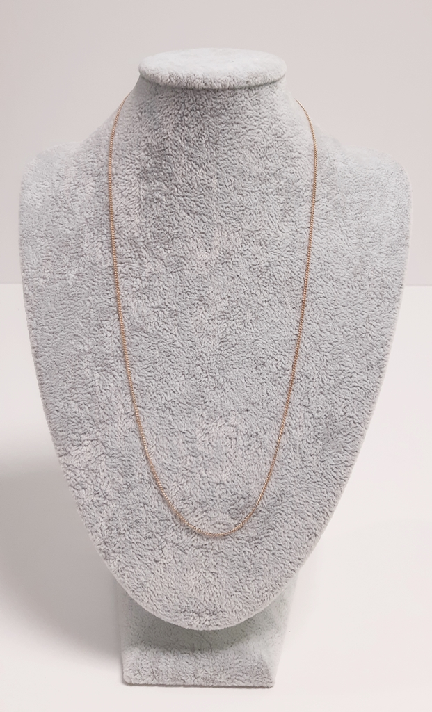 Delikatny złoty łańcuszek p585 2.05 gA