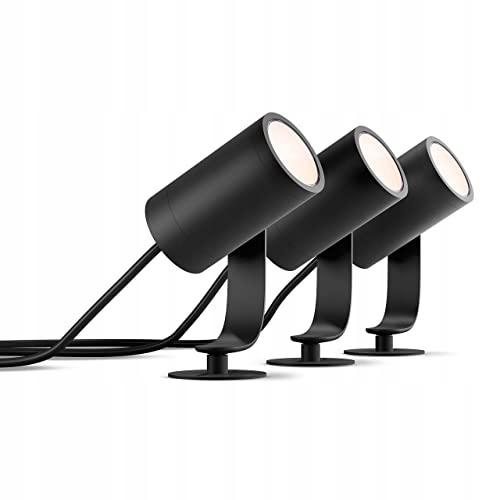 LAMPY PHILIPS HUE LED ZEWNĘTRZNE LED OGRODOWE 3SZT