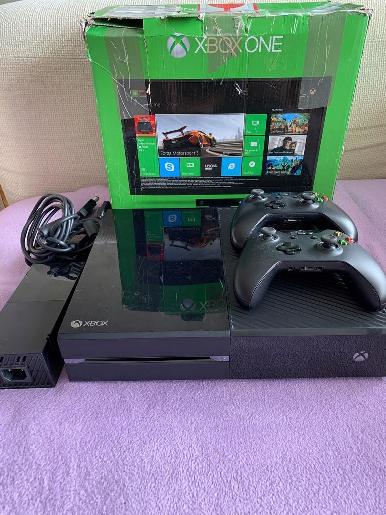 Xbox ONE 500GB 2x pady, kabel hdmi, zasilacz
