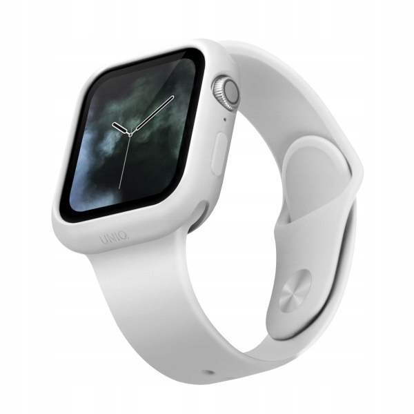 UNIQ etui Lino Watch Series 5/4 44MM biały/dove w