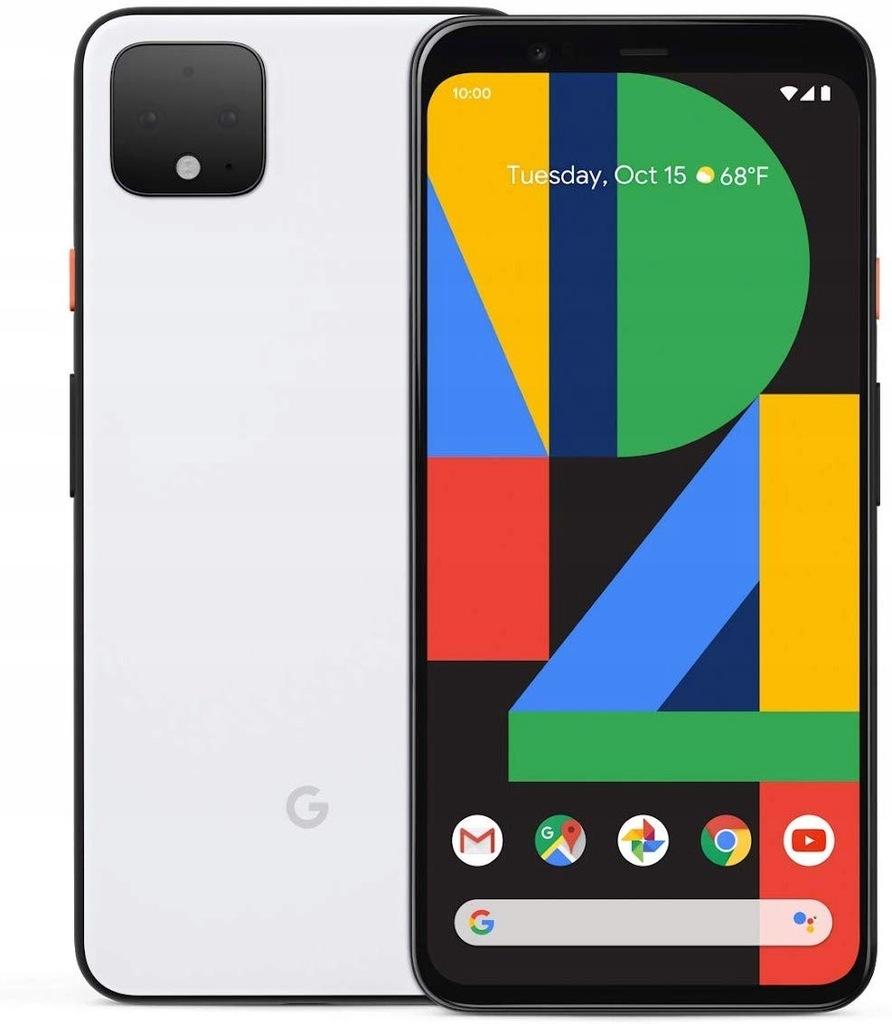Google Pixel 4 XL 4/64GB Biały Nowy 24M GW FV23