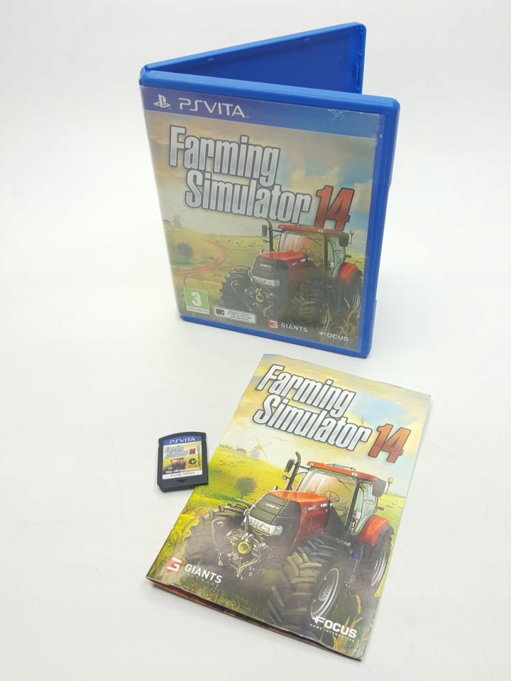 FARMING SIMULATOR 14 - PS VITA GRA KOMPLET