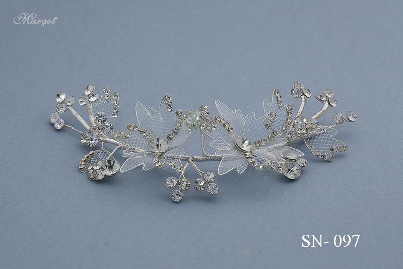 Stroik ślubny SN097 - fryzury ślubnej, głowę