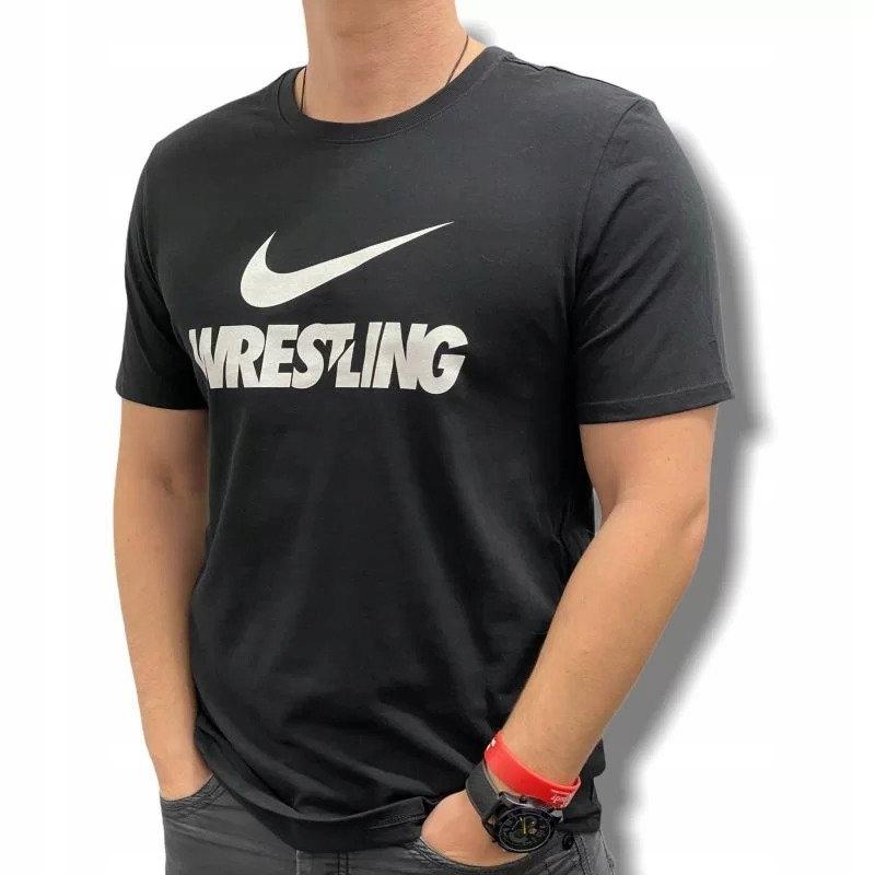 Koszulka treningowa sportowa NIKE WRESTLING CZARNA