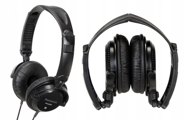 Słuchawki nauszne Panasonic RP-DJS200 NOWE !