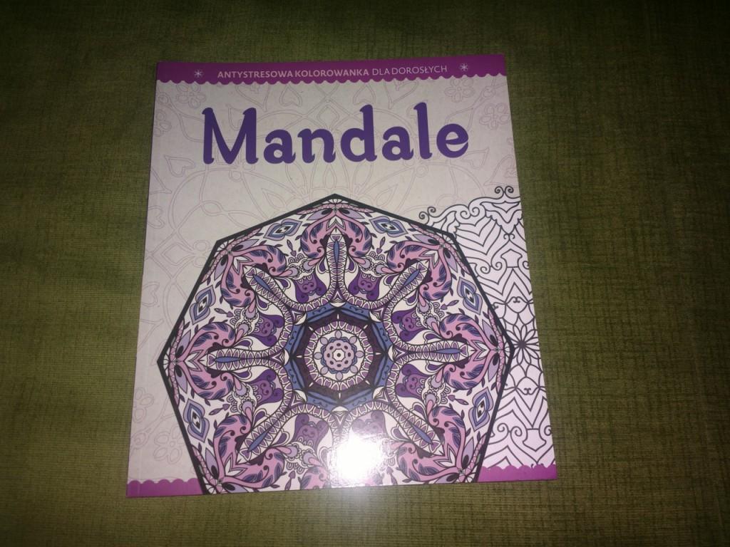 Mandale, antystresowa kolorowanka dla dorosłych