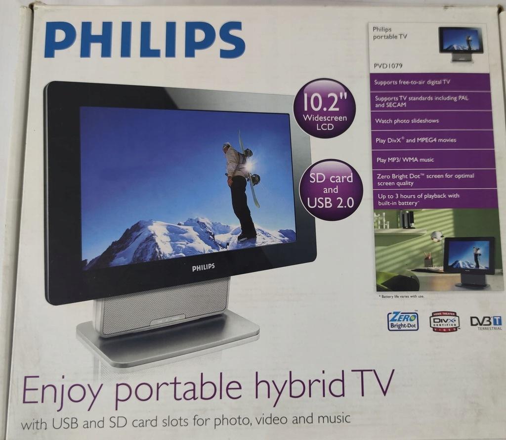 Telewizor przenośny Philips PVD 1079