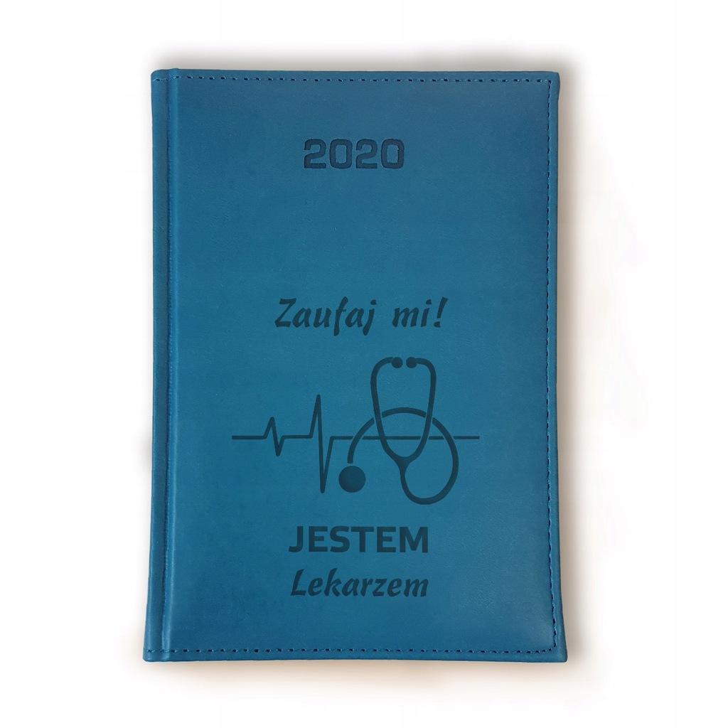 Kalendarz 2020 Terminarz Lekarza A5 Dzienny Grawer 8665134006 Oficjalne Archiwum Allegro