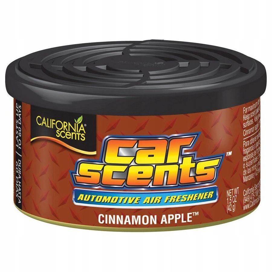 CALIFORNIA CAR SCENTS - Zapach Cinnamon Apple