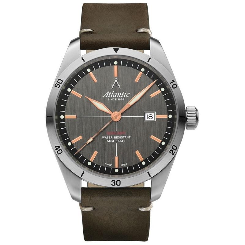 Męski zegarek Atlantic 70351.41.41R GRAWER GRATIS