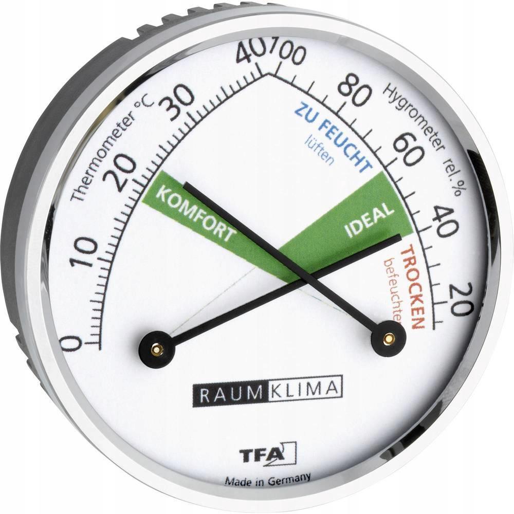 Termometr higrometr analogowy TFA Dostmann