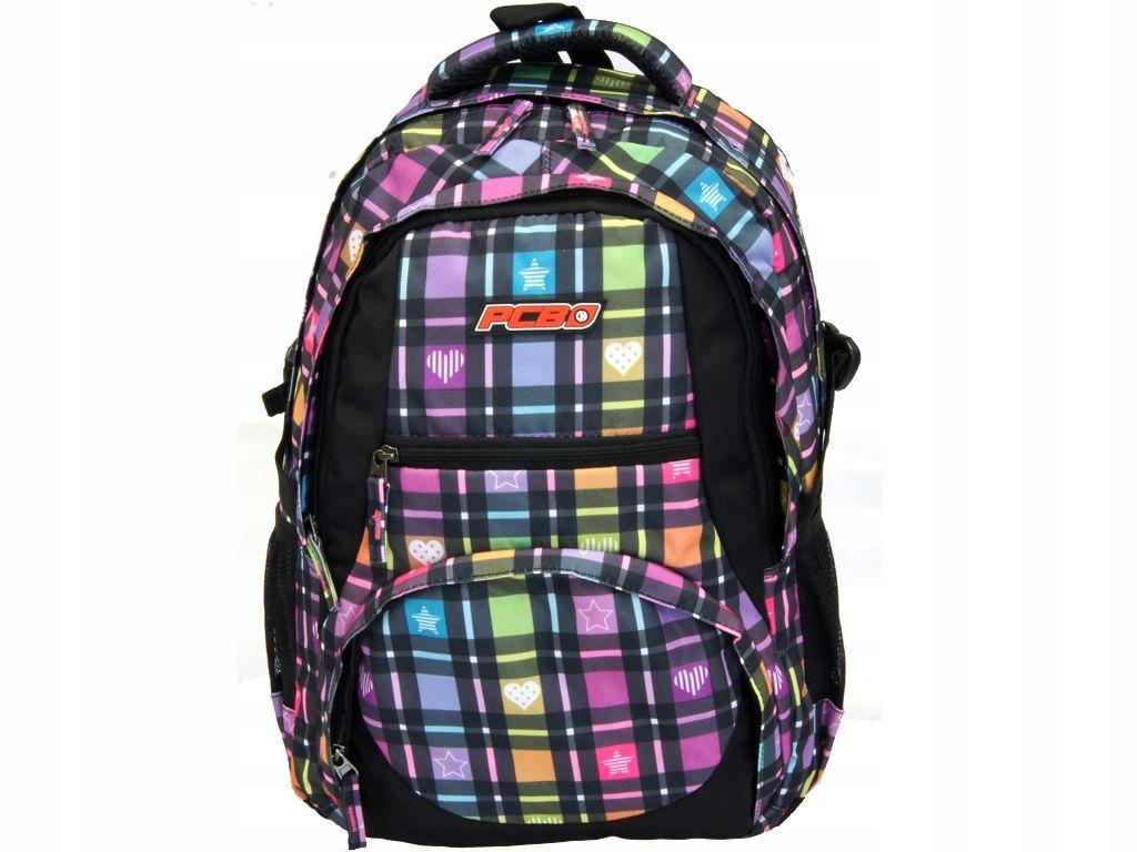Plecak CoolPack PCB idealny do szkoły na wycieczki