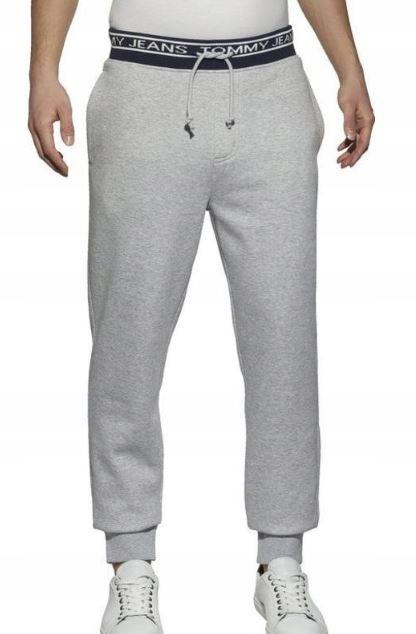 Tommy Jeans spodnie TJM Rib Logo Sweatpa L
